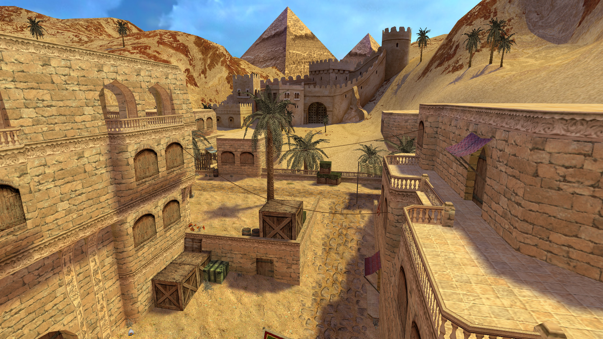 Here's what the original Counter-Strike's best map looks like, 20 years later