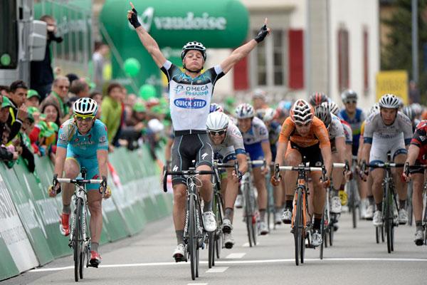 Gianni Meersman wins Tour de Romandie 2013, stage three