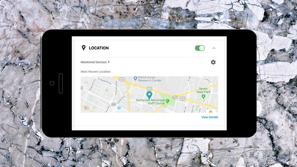 Location Monitoring Mobile