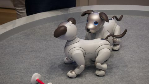 Sony Aibo hands on review | Te...