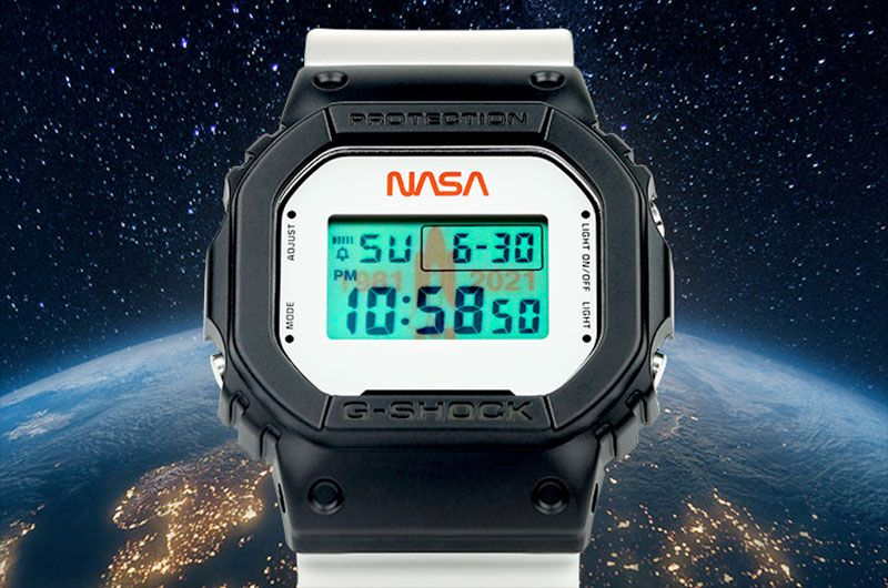 Casio's new digital watch marks 40 years since first space shuttle launch