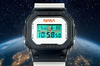 Casio's new limited edition G-Shock DW5600 digital watch marks 40 years since the first space shuttle launch.