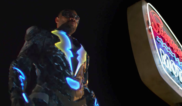 Black Lightning suit