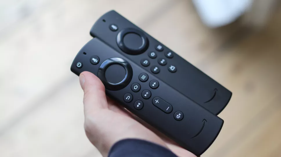 The Fire TV Stick (2020) remote