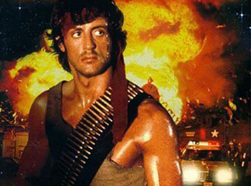 First Blood - Sylvester Stallone's maverick Vietnam veteran reckons small-town redneck cops can go to blazes