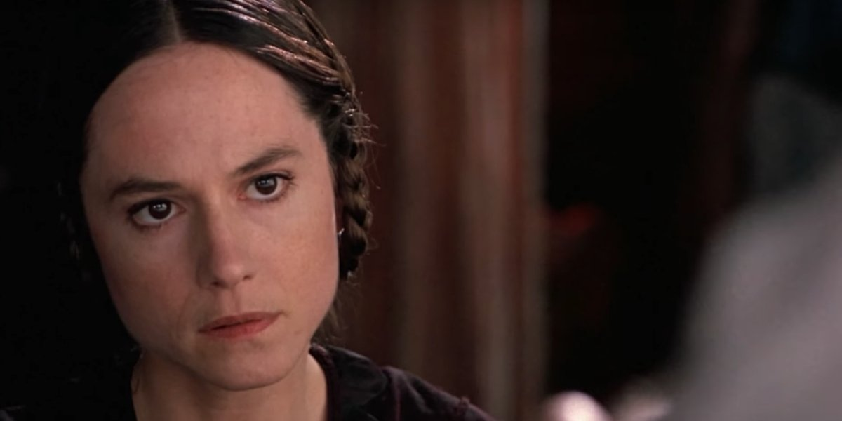 Holly Hunter in Jane Campion's The Piano