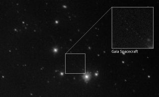 As Gaia Maps Our Galaxy, This Telescope Keeps an Eye on the Spacecraft