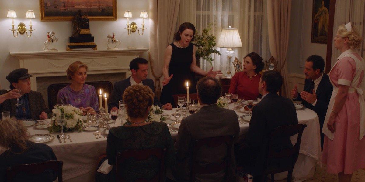 The Maisels at Yom Kippur dinner