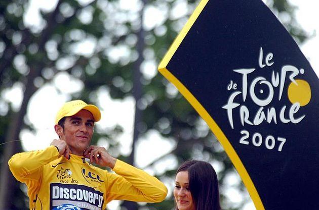 Alberto Contador Tour 2007 OFS