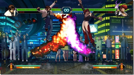 King Of Fighters XIII Now Kicking It On Steam #28888