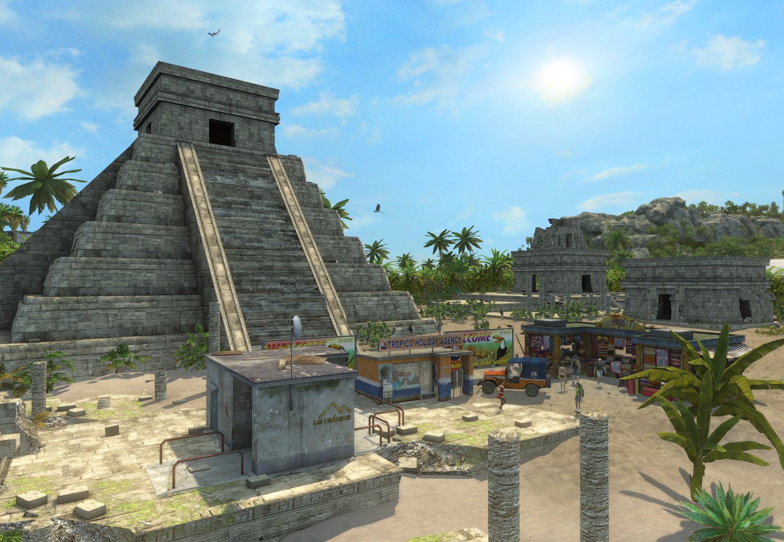 Tropico 3 Screenshots Deface Ancient Ruins #8042