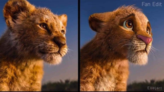 Lion King character comparisons