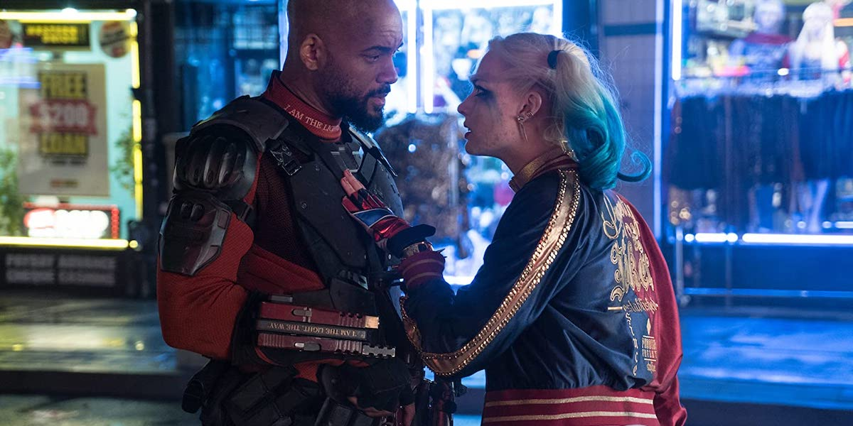 Will Smith and Margot Robbie was Deadshot and Harley Quinn in Suicide Squad
