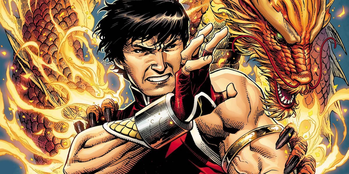 Shang Chi Marvel comic book cover