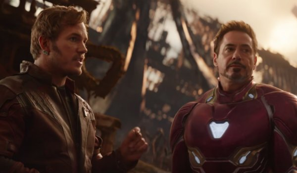 Star-Lord Iron man avengers infinity war