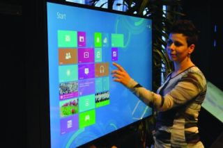 MultiTouch Announces Fully Integrated Windows 8 Interactive Displays