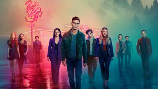 The cast of Riverdale on season 5 poster