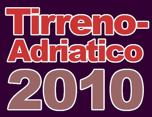 Tirreno Adriatico 2010 logo