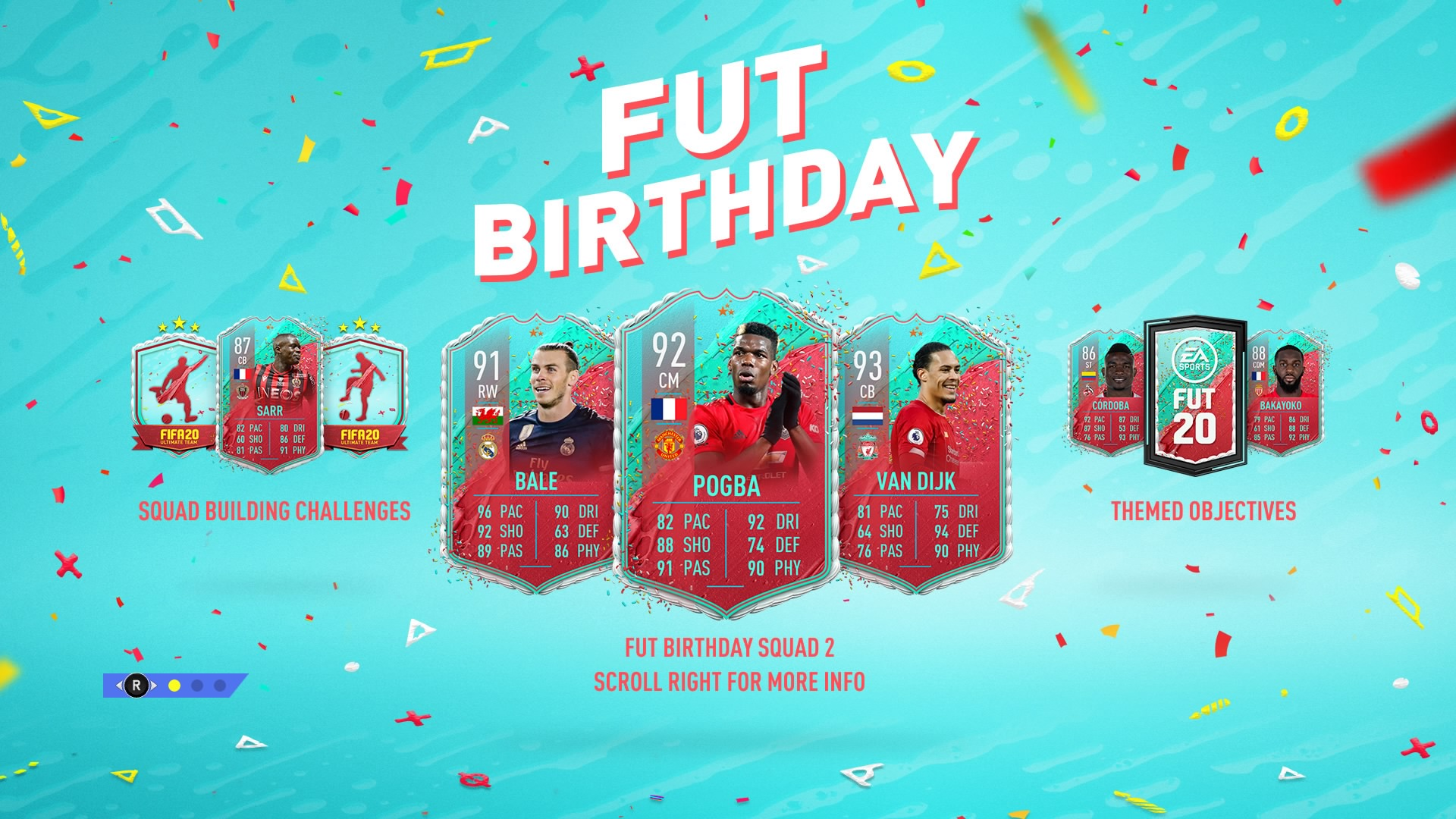 Fabulous Fifa 20 Fut Birthday Guide Upgraded Van Dijk Pogba And Bale Personalised Birthday Cards Paralily Jamesorg