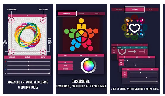 5 logo design apps for beginners