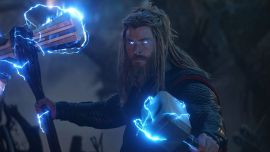 Marvel Fan Goes To Disneyland As Fat Thor, Goes Viral For Perfect Lightning Shot