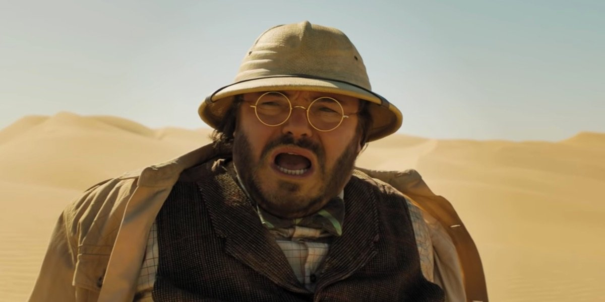 Jack Black in Jumanji: The Next Level