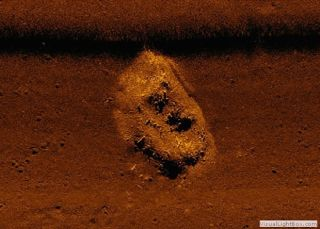 A seafloor image of the shipwreck that the Colombian government has identified as the San Jose.