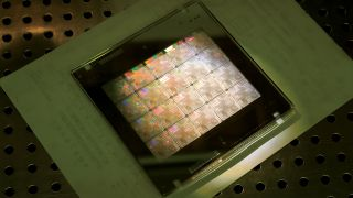 Silicon wafer from TSMC