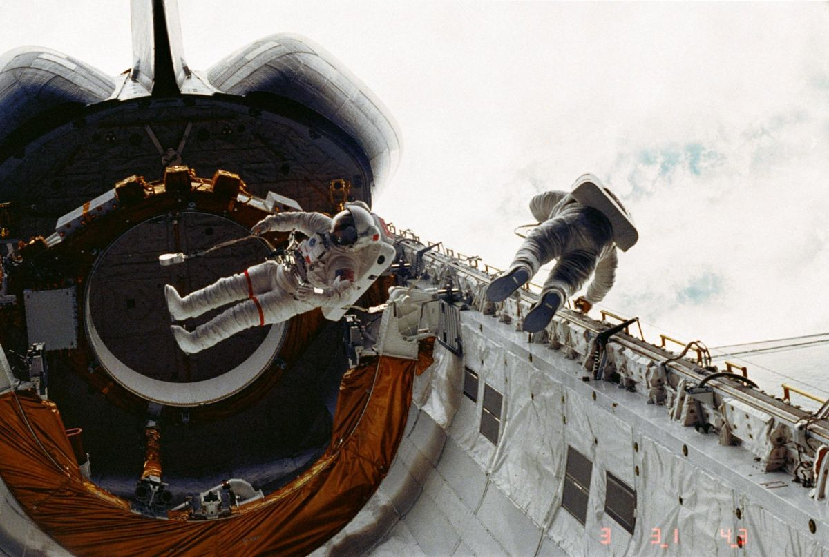 On This Day in Space! April 7, 1983: 1st Spacewalk from Space Shuttle