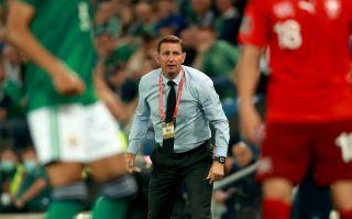 Northern Ireland v Switzerland – FIFA World Cup 2022 – European Qualifying – Group C – Windsor Park