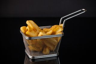 French fries, trans fats