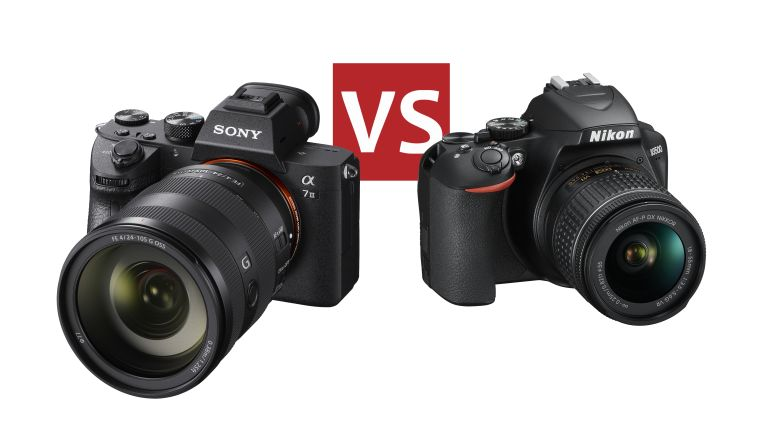 Mirrorless Camera vs DSLR