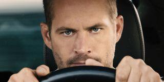 Furious 7 Paul Walker fury behind the wheel