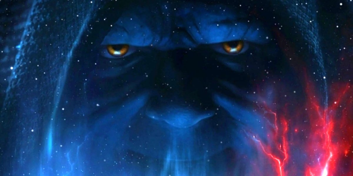 Star Wars: The Rise of Skywalker Palpatine's visage looms in space