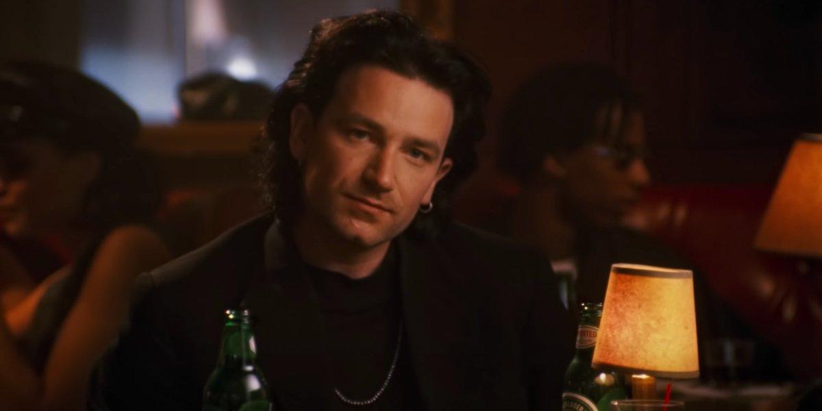 "Bono in U2's ""One"" music video"
