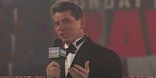Vince McMahon on Monday Night Raw