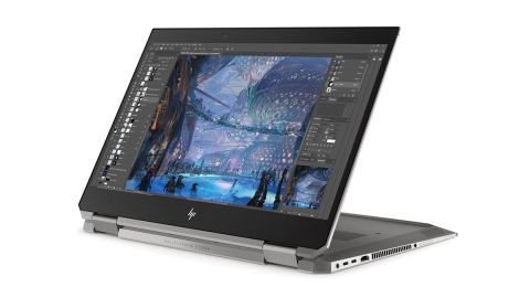 Product shot of HP ZBook Studio x360