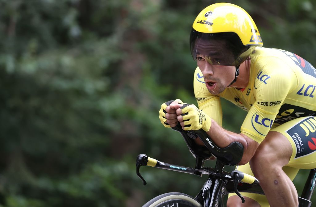 Primoz Roglic emphasises time trial training in approach to Tour de France