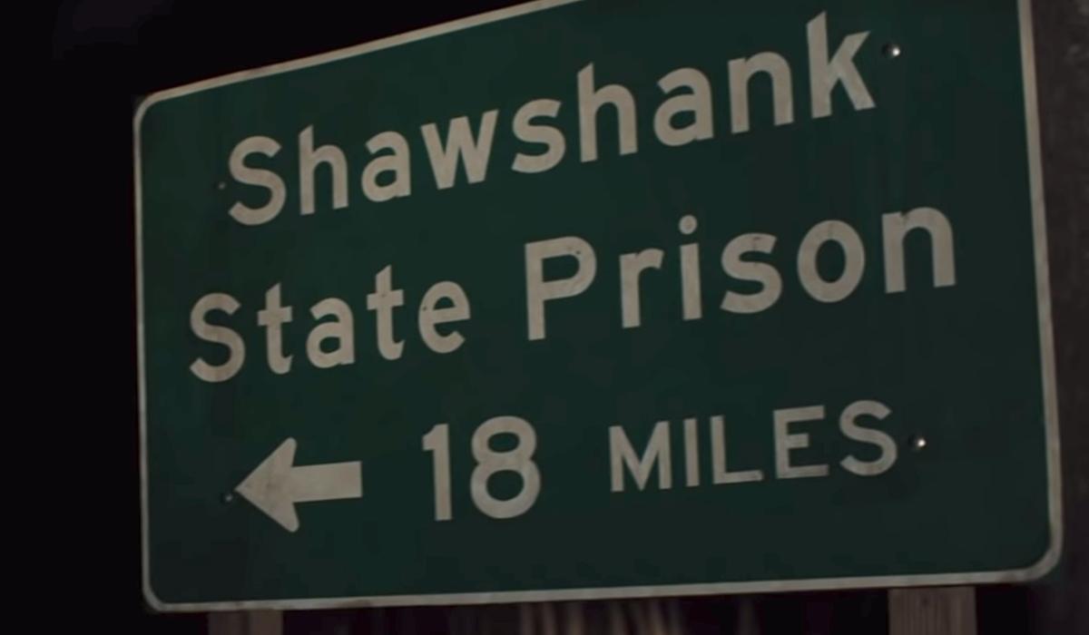 shawshank state prison street sign castle rock season 2