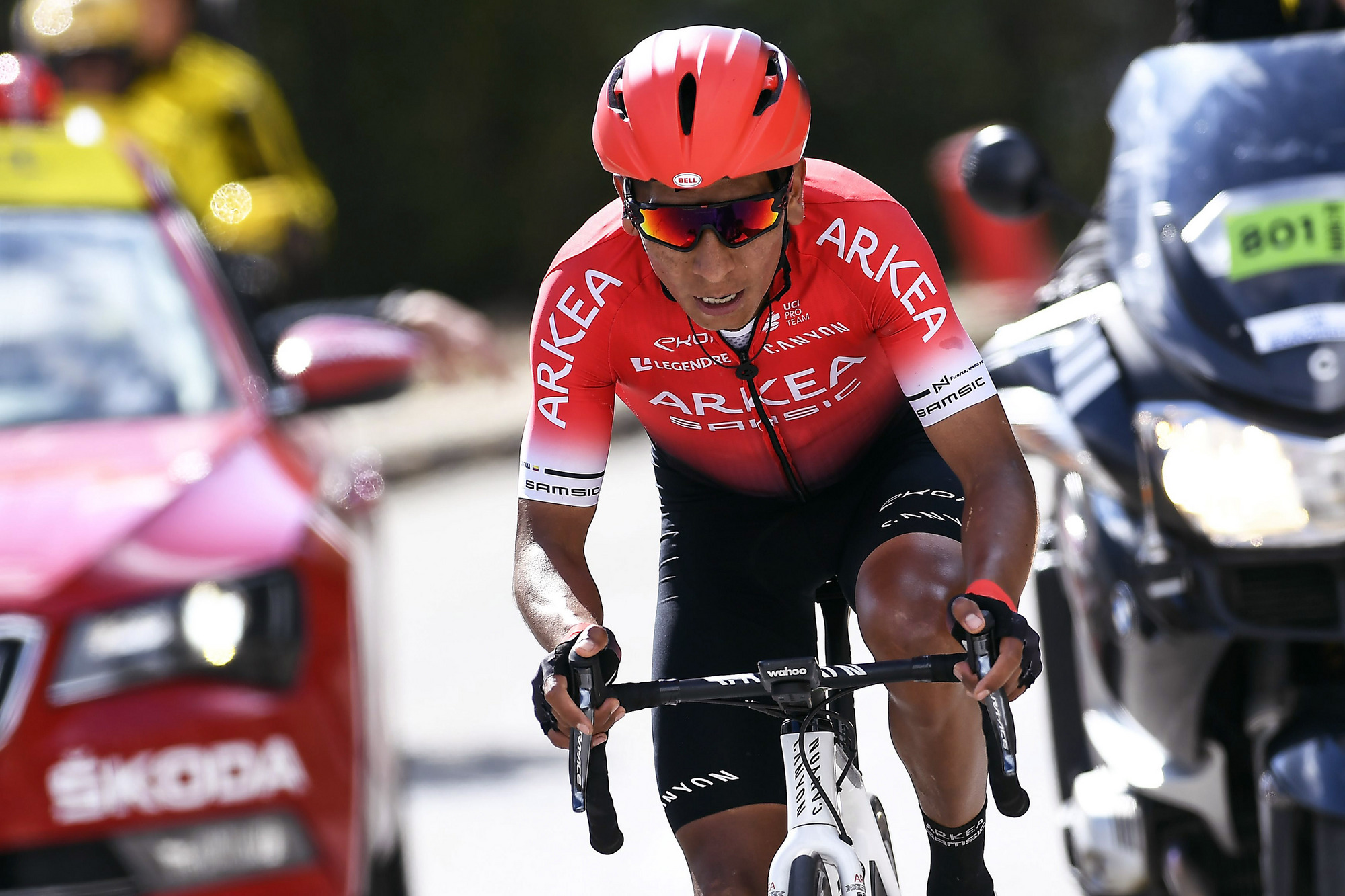 Could new Arkéa-Samsic signing Nairo Quintana this year mount a serious threat to the Team Ineos stranglehold on the Tour de France?