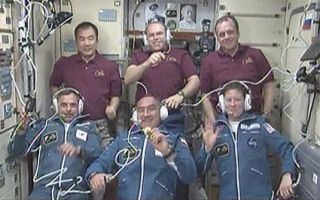 New Crew Arrives at Space Station on Russian Spacecraft