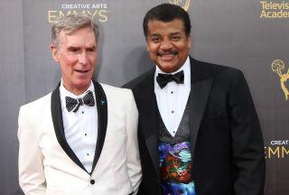 Bill Nye and Neil deGrasse Tyson.