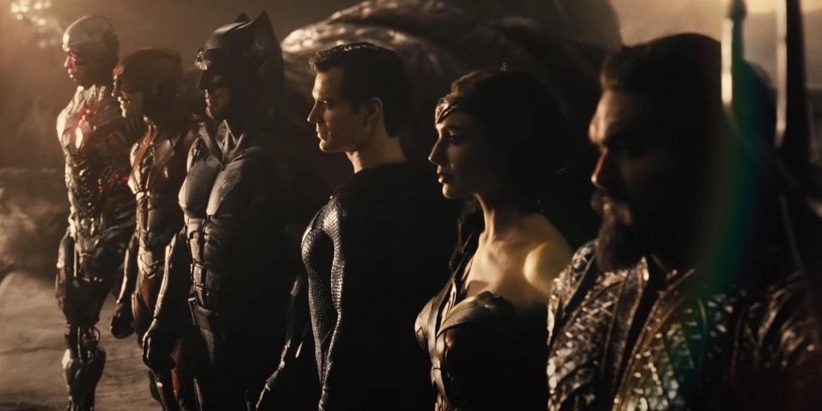 Zack Snyder's Justice League superhero lineup