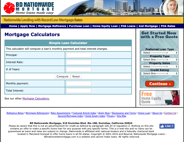 BD Nationwide Mortgage Review - Pros, Cons and Verdict | Top