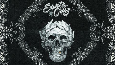 Cover art for Santa Cruz - Bad Blood Rising album