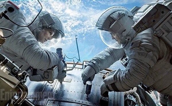 Gravity Bullock Clooney