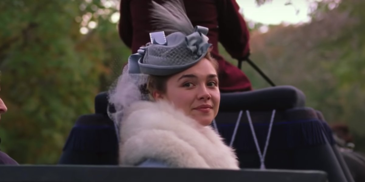 Florence Pugh as Amy March in Little Women