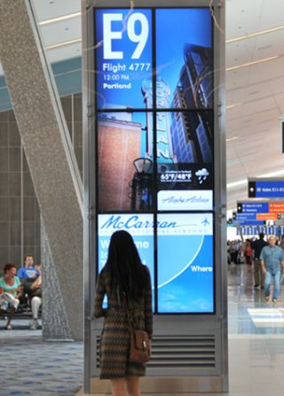 Four Winds Interactive at McCarran Airport's New Terminal