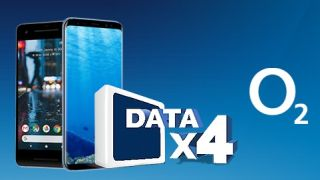 O2 s quadruple data mobile phone deals are available on the Google Pixel 2 and Samsung Galaxy S8 among others