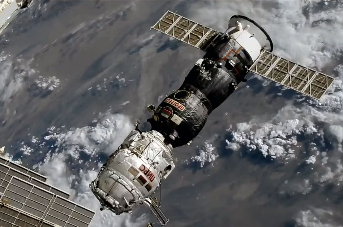 Russia discards Pirs docking port to clear way for new space station module